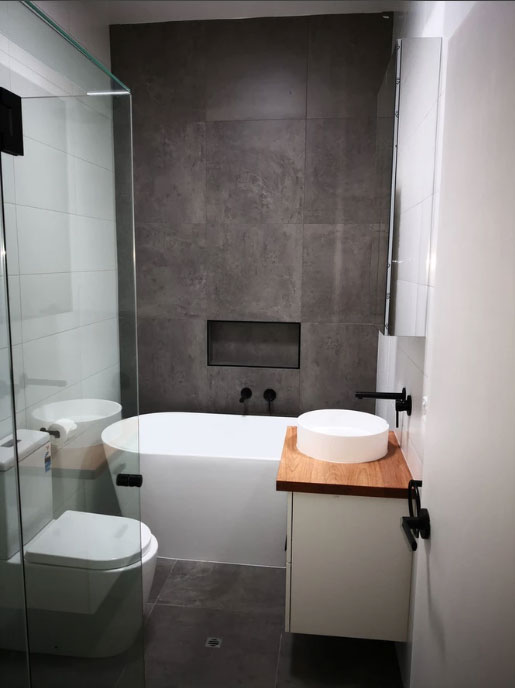 Small & Complete Bathroom Renovations In Greensborough